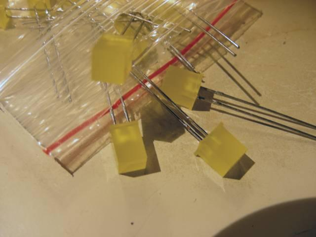Led jaune