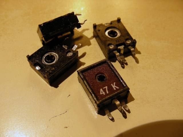 Potentiomètre de circuit
